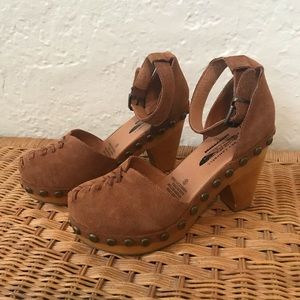 Jeffrey Campbell for Free People Daubs Clogs